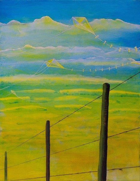 Fence with Kites