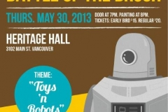 Golden Brush Art Events_Battle of the Brush 11_Toys and Robots