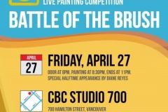 Golden Brush Art Events_Battle of the Brush 6_Celebration