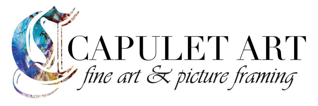 capulet art logo - fine art and picture framing
