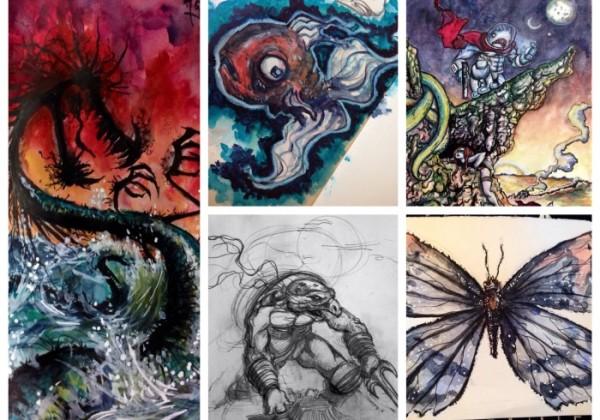 Golden Brush Art: Featured Artist Scotty Agar