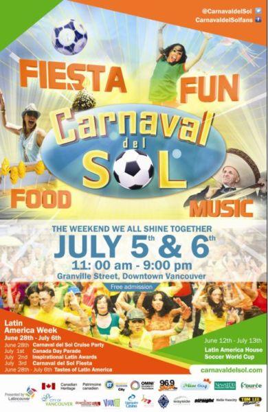 Carnaval Del Sol 2014