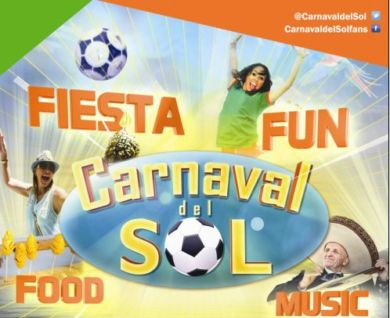 Come & Hang out at the Carnaval Del Sol