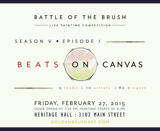 Battle of the Brush: Season 5 Opening Show