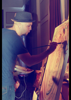Golden Brush Art: Featured Artist Lixandro Cordero