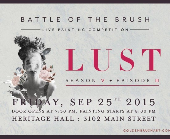 "Battle of the Brush 24: Season 5 Episode 3 – ""Lust"""