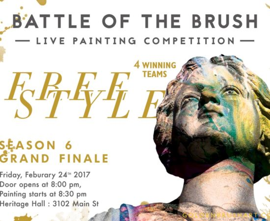 Battle of the Brush 31:  Season 6 Grand Finale