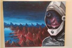 dark matter team 1a painting