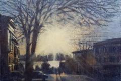 Louise Nicholson_Winter Sun_30x30_acrylic