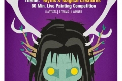 Golden Brush Art Events_Battle of the Brush 14_Myths and Magical Creatures