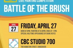 Golden Brush Art Events_Battle of the Brush 6_Celebration
