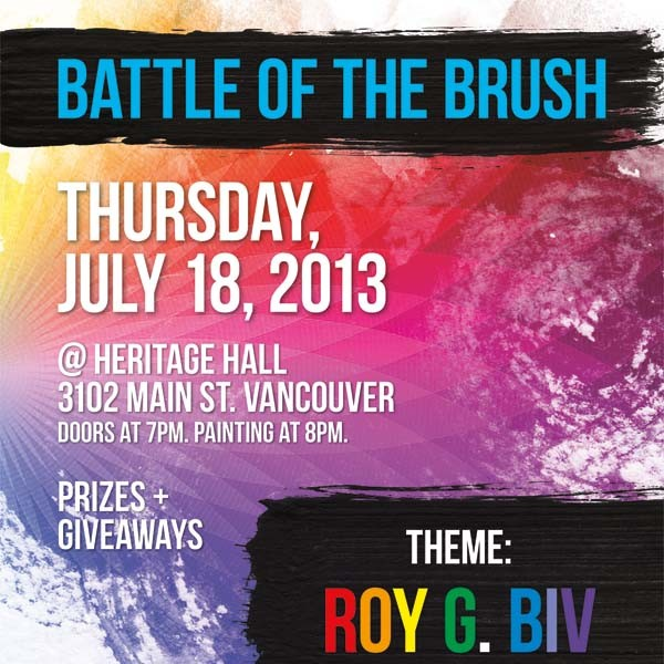 <title>Roy G. Biv</title>Battle of the Brush: Season III Episode III &#8211; &#8220;Roy G. Biv&#8221;