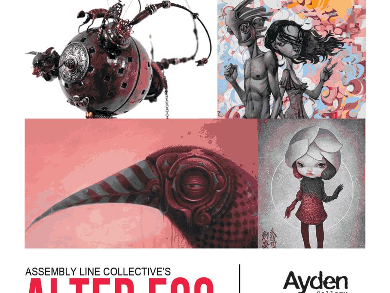 Alter Ego Art Exhibition at the Ayden Gallery