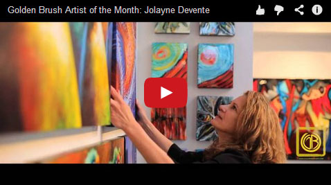 Golden Brush Artist of the Month May '14: Jolayne Devente