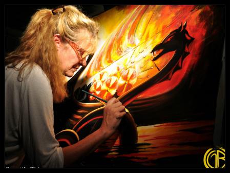 Golden Brush Art: Featured Artist Jolayne Devente