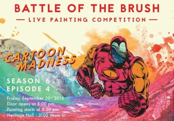Cartoon Madness Paintings
